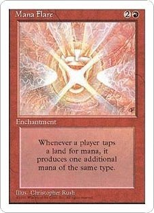Mana Flare (Magic the Gathering : 4th Edition Rare)