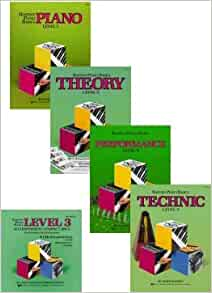 Bastien Piano Basics: Level 3 Set and CDs (4 Book, 2 CD