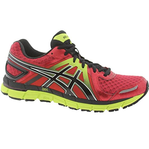 Asics Men's Gel-Excel33 2 Running Shoe,Red/Black/Lime,8.5...
