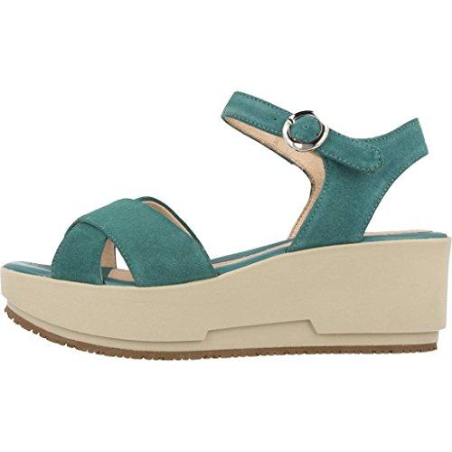 Sandalias y chanclas para mujer, color Verde , marca STONEFLY, modelo Sandalias Y Chanclas Para Mujer STONEFLY KETTY 4 Verde Verde