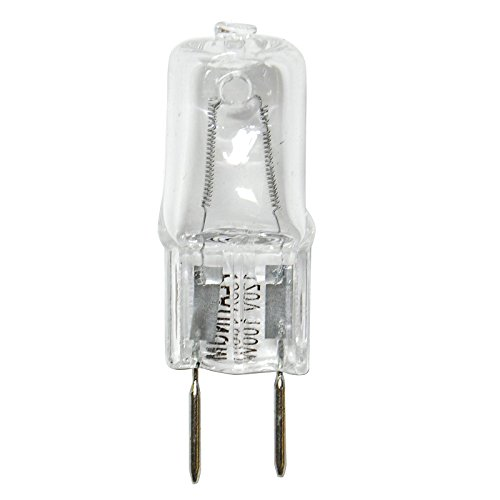 Platinum 100W 120V GY8 Bi-Pin Base Clear Halogen Bulb