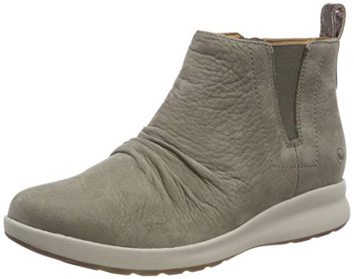 Botas Nubuck Beige Un Adorn Mujer Clarks Taupe Slouch Mid para Atzzx0T
