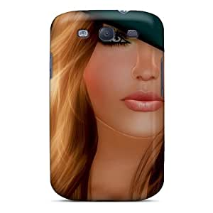 New Design Shatterproof IyczWHJ7972MAJiT Case For Galaxy S3 (art Girl)