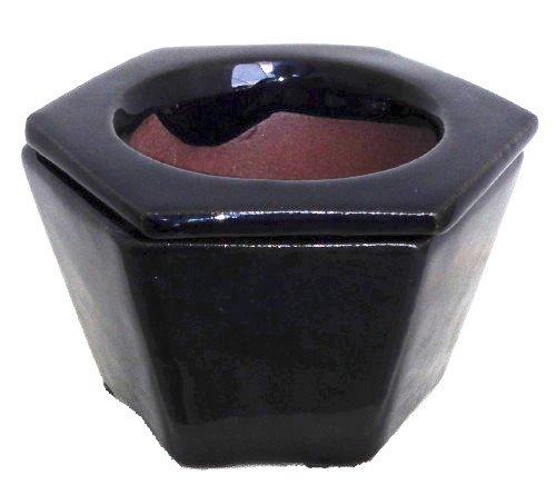 self-watering-glazed-ceramic-pot-hexagon-navy-blue-3-3-4-x-2-1-2-14630