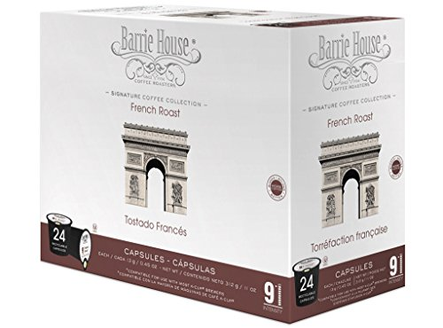 Barrie House French Roast Single Cup Capsule, 24 ()