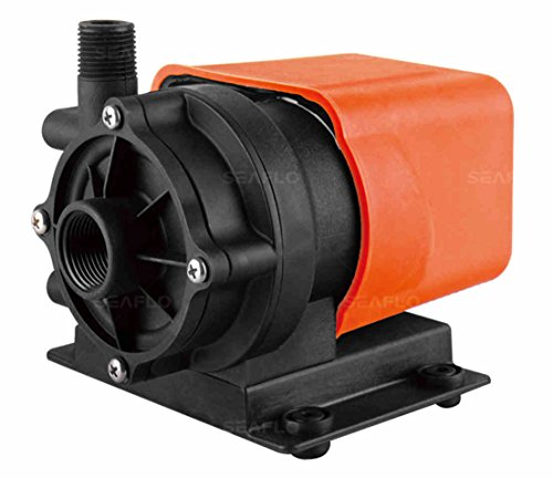 SEAFLO Marine Air Conditioner Magnetic Drive Raw Water Circulation Pump 500 GPH 115V (115v Magnetic Drive Pump)