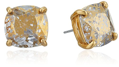 Designer Gold Stud - kate spade new york Small Square Gold Patina Stud Earrings