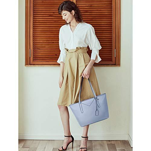 BROMEN Women Handbags Designer Leather Tote Purse Large Capacity Purses and Handbags Shoulder Bag 2