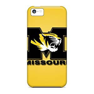 Cute Tpu ArtCover Missouri Tigers Case Cover For Iphone 5c