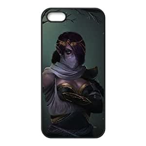 iPhone 4 4s Cell Phone Case Black Defense Of The Ancients Dota 2 TEMPLAR ASSASSIN 007 LWY3553256KSL