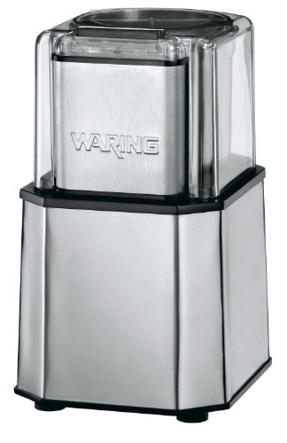 Waring Commercial WSG30 Commercial Medium-Duty Electric Spice Grinder (Best Blender For Berry Seeds)