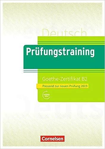Prüfungstraining Daf B2 Goethe Zertifikat B2 Neubearbeitung