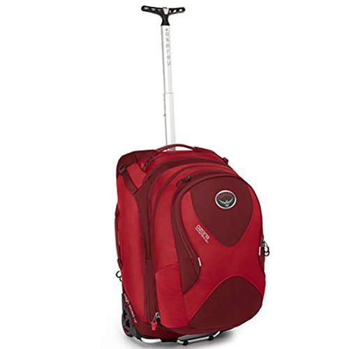 Osprey Ozone Convertible 22''/50L Wheeled Luggage, Hoodoo Red by Osprey