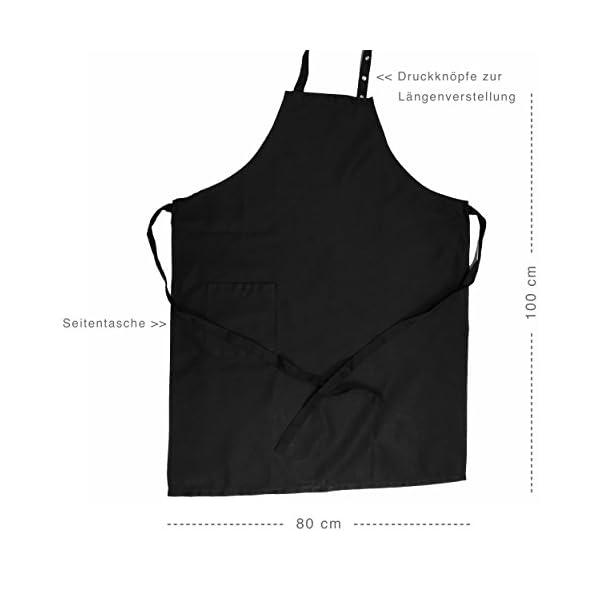 41mkWkPaYoL Nix wie Weg - Happy Camper - lustige Grillschürze für Männer, Kochschürze - Geschenkidee Camper, Wohnmobil, Zubehör…