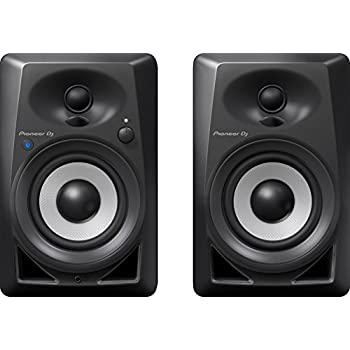 pioneer pro dj studio monitor rca mini jack black dm40 musical instruments. Black Bedroom Furniture Sets. Home Design Ideas