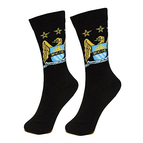 Manchester City Unisex Official Socks, Multi-colour, Size 6-11