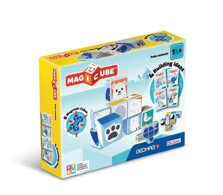 ToyPlaya GEOMAG Magicube: Polar Animals