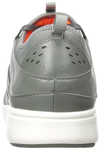 Metropolitan Armani X Castor Apache Mens Exchange Apache Sneaker Metropolitan Sneaker Grey A S18qU8