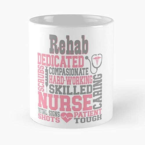 Nurse Rehab Cardio Morning Coffee Mug Ceramic Novelty Holiday