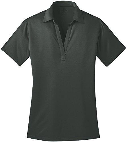 Shirt Grey Silk (Joe's USA tm Silk Touch Golf Polo Shirt, XL-Steel Grey)