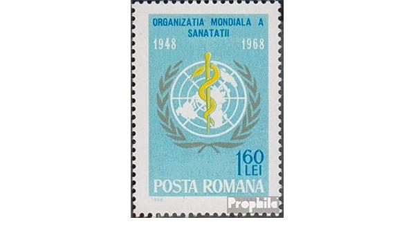 Block412 2007 Rumano Cer/ámica Vidrio Prophila Collection Rumania Michel.-No.. Cer/ámica Sellos para los coleccionistas Porcelana