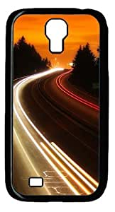 Interstate Highway Custom Samsung Galaxy I9500/Samsung Galaxy S4 Case Cover Polycarbonate Black