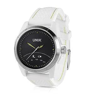 iMacwear unik2 - 5ATM Impermeable Smartwatch Pulsera de Actividad Bluetooth (Sumergible hasta 50M, Podómetro, Minotor de Sueño, Despertador, Ios ...