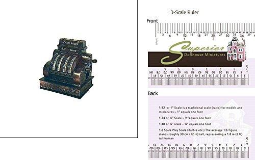 Dollhouse Miniature Cash Register Pencil Sharpener