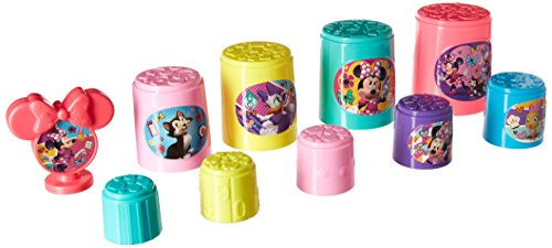 Disney Minnie Mouse Stacking & Nesting Cups in Window Box Game by Disney