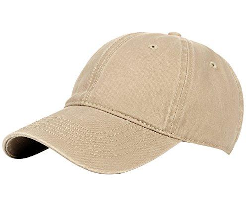 Beige Baseball Hat - 4