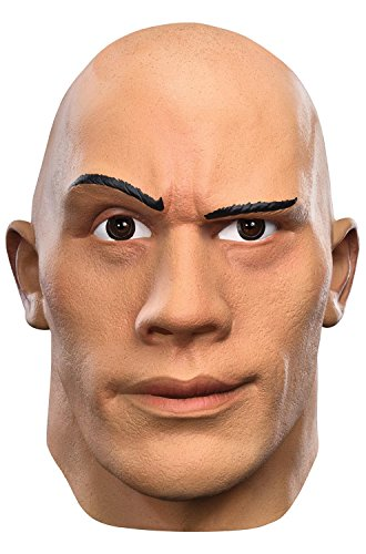 Rock Halloween Costume 2016 (Disguise Men's the Rock Deluxe WWE Adult Mask, Multi, One Size)