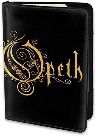 オペスバンド Opeth Band パスポートケース メンズ 男女兼用 パスポートカバー パスポート用カバー パスポートバッグ 小型 携帯便利 シンプル ポーチ 5.5インチ高級PUレザー 家族 国内海外旅行用品