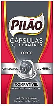PILÃO Cápsulas de Café Forte - 10 Cápsulas