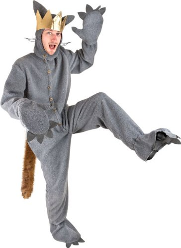 amazoncom adult where the wild things are max halloween costume clothing - Max Halloween Costume Where The Wild Things Are
