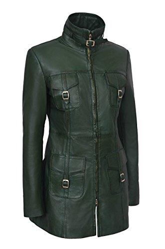 Green Range Cuoio Coat Gotico Nuovo 1310 Stile Assemblato 'mistress Aggregato Royal Smart Ladro Napa wAxq1nId