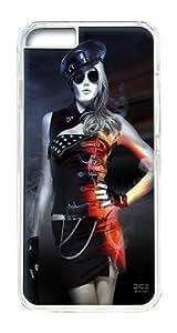 IPhone 6 Plus Case, IPhone 6 Plus Cases Hard Case Game Girl Case For IPhone 6 Plus, IPhone 6 Plus PC Transparent Case