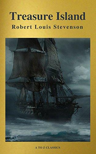 Treasure Island (Active TOC, Free Audiobook) (A to Z Classics)