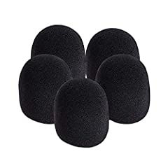 Features:  100% Brand new and high quality.  Quantity: 5PCS  Size: 8.5x6x5cm/3.3x2.4x2.0inch  Color: Black  Function: Anti saliva, windshield  Package Content:  5 x Microphone cover [KEYWORD]:office women's fashion fashion women home living ...
