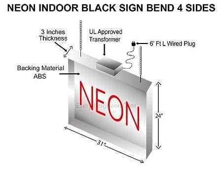 Amazon.com: Nail Salon Logo Neon Sign 24