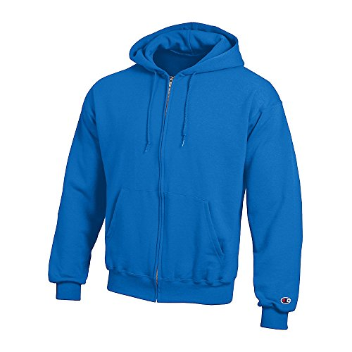 Champion Double Dry Action Fleece Full Zip Hood_Royal Blue_2XL (Swirl Jumper Set)