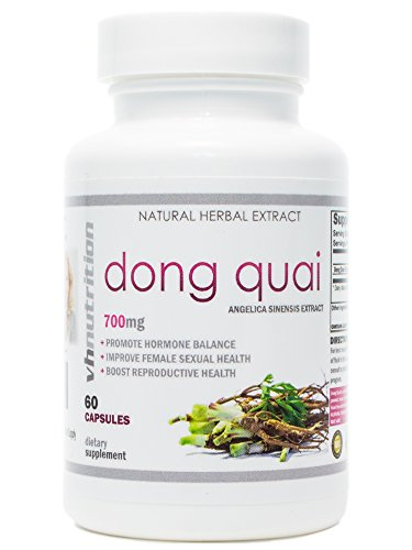 Dong Quai | 700 mg Extract Capsules | 4:1 Angelica Sinensis Root Powder | 60 Day Supply ()