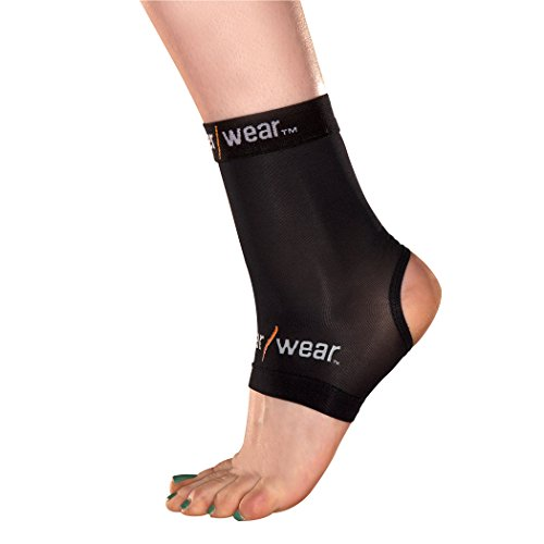 Copper Wear Compression Ankle Sleeve, Large