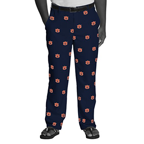 NCAA Auburn Tigers Men's Game Changer Pants, Size 32-32, Navy - Tigers Mens Pants