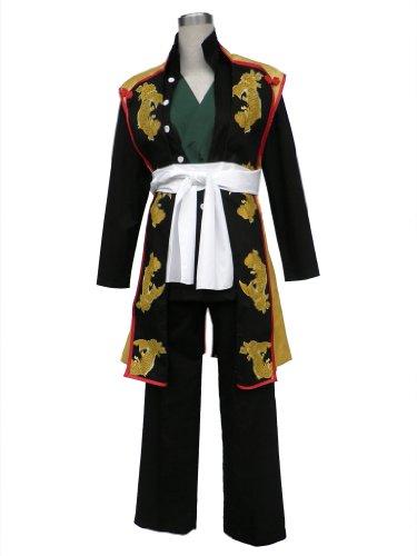 [Mtxc Men's Hakuoki Cosplay Costume Souji Okita 1st Size Large Black] (Okita Souji Cosplay Costume)