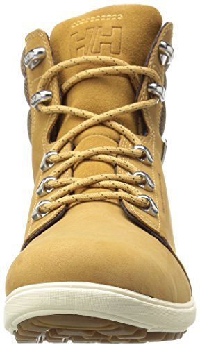 Helly Hansen Women's W A.s.t 2-w Cold Weather Boot, Brown New Wheat/Coffee Bean/Angora/Sperry Gum