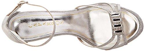 Caparros Womens Tyler Dress Sandal Silver hCJGzqIct