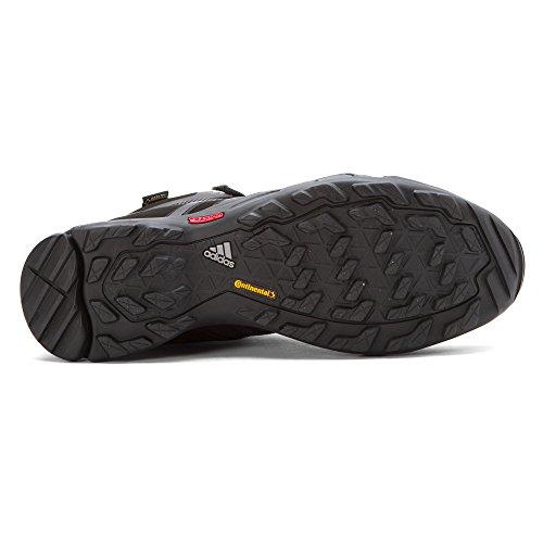 Adidas Hurtige X Høj Gtx Boot Mænds Vandring Sort, Mørkegrå, Magt Rød