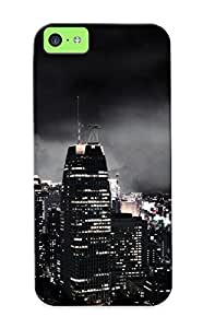 Awesome Design Dark City Hard Case Cover For Iphone 5c(gift For Lovers)