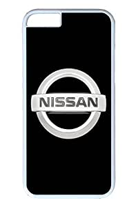 iPhone 6 Case - Protective Armor Hard Back Case for iPhone 6 Nissan Car Logo 9 Exact Fit High Quality White Hard Cases for iPhone 6 4.7 Inches by Maris's Diaryby Maris's Diary