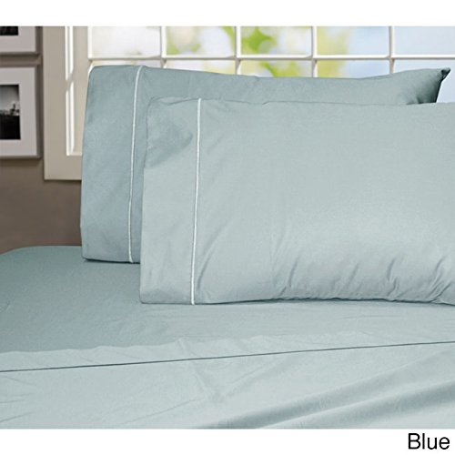 Addy Home Fashions Luxury Egyptian Cotton 1000 Thread Count Sheet Set Blue Queen